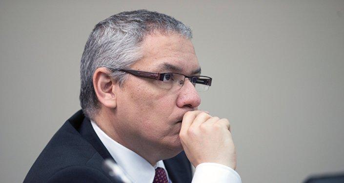 Ramón Gordils, viceministro venezolano de Cooperación Económica y presidente del Banco de Comercio Exterior