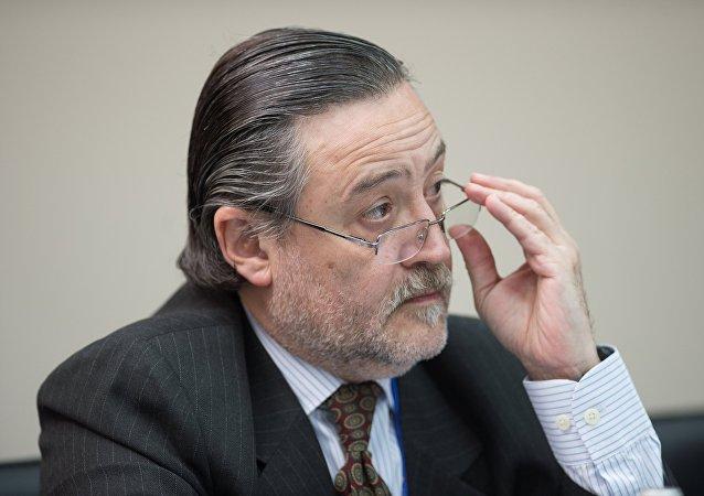 Rafael Enrique González Alemán, el viceministro de Comercio e Inversiones de la Cancillería de Argentina