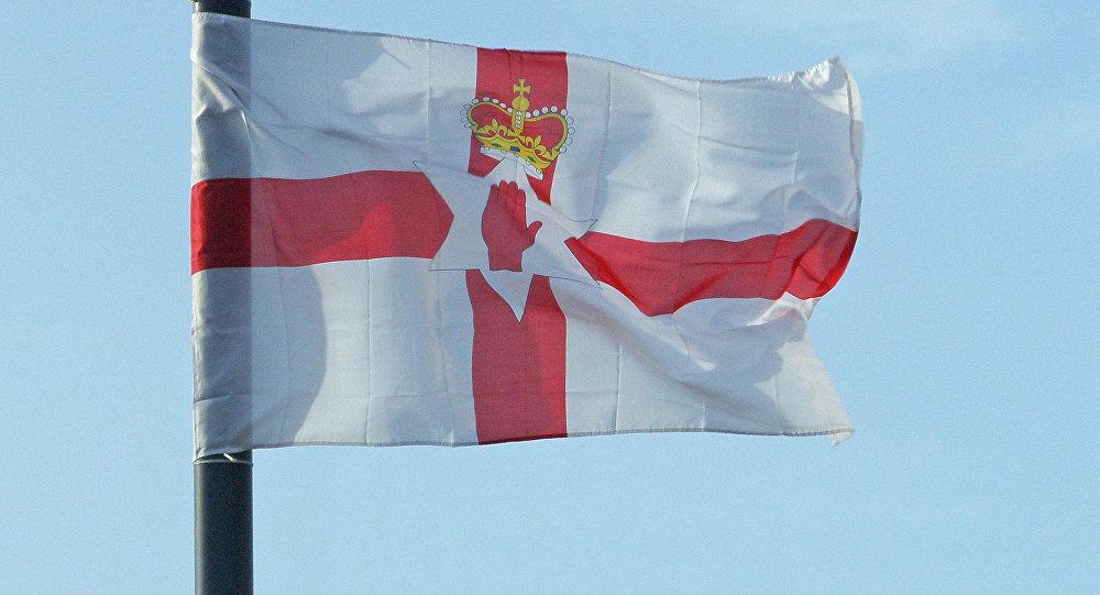 Bandera de Irlanda del Norte (archivo)