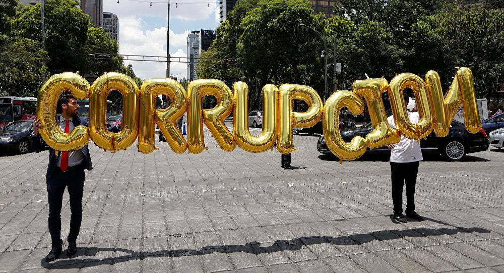 Empresarios debutan en las calles contra leyes anticorrupción, México (archivo)