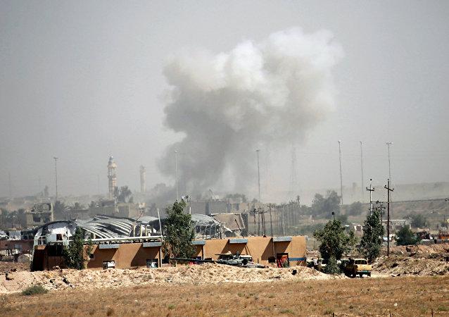 Combates en la ciudad iraquí de Faluya