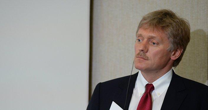 Dmitri Peskov, el portavoz del Kremlin