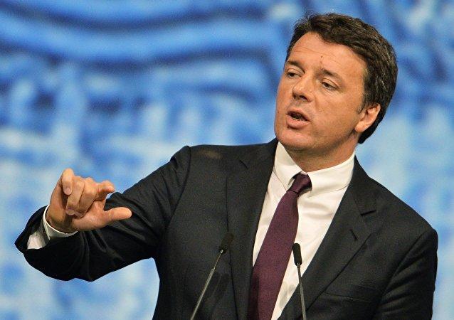 Matteo Renzi, el ex primer ministro de Italia