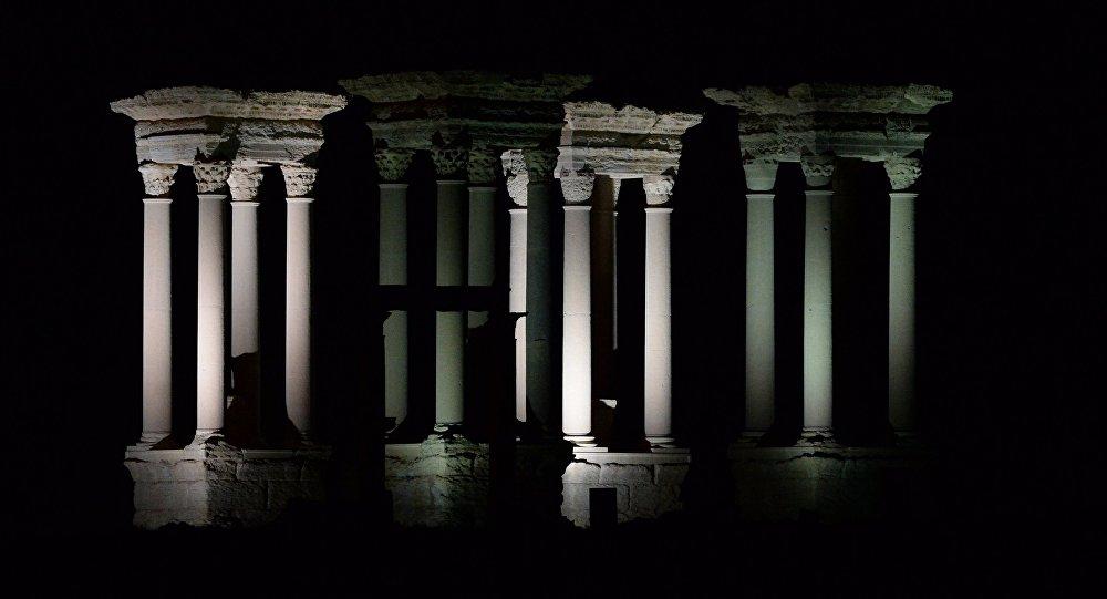 La antigua ciudad siria de Palmira