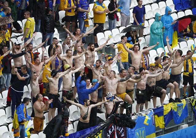 Hinchas ucranianos