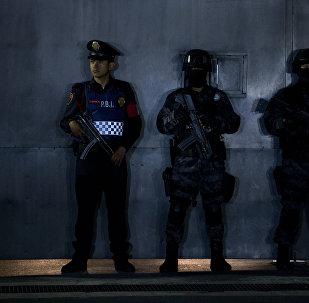 Policías mexicanos