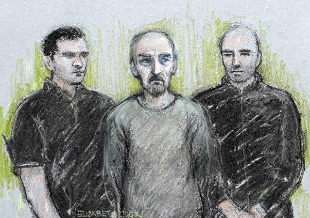 El retrato del presunto asesino de Jo Cox