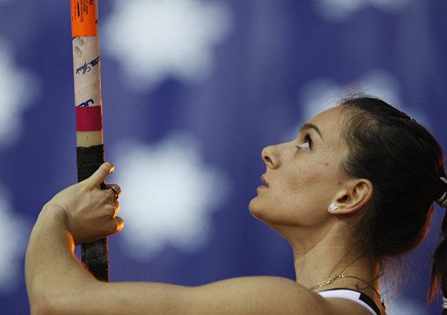 Elena Isinbáyeva, atleta rusa
