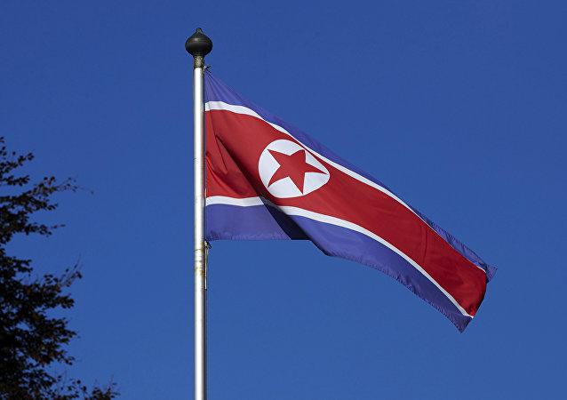 Bandera norcoreana
