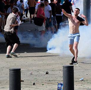 Disturbios en Lille