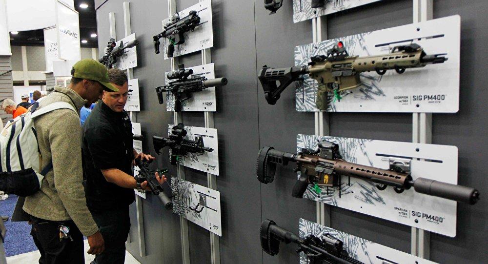Encuentro de la Asociación Nacional del Rifle estadounidense (archivo)
