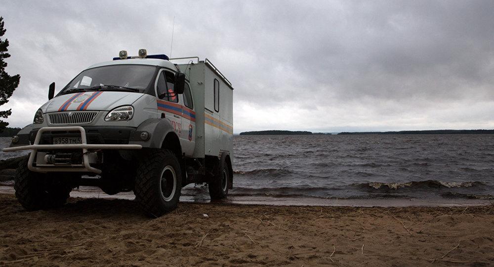 Operación de rescate en Karelia
