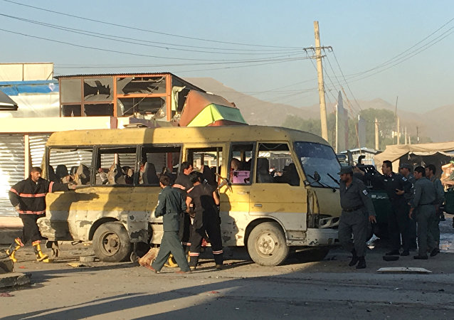 Explosión en Kabul (archivo)