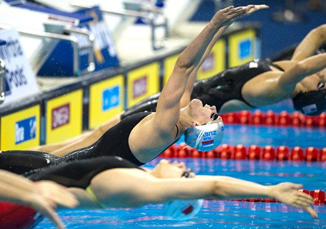 Nadadoras rusas