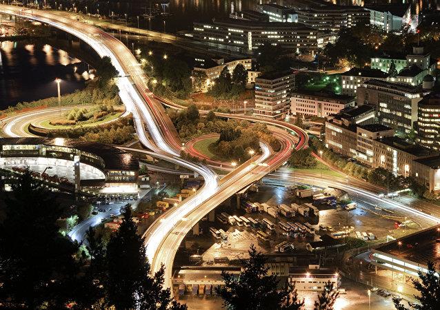 Ciudad de Bergen, Noruega