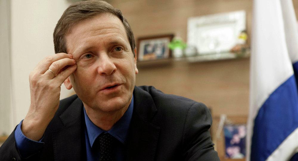 Isaac Herzog, líder de la Unión Sionista