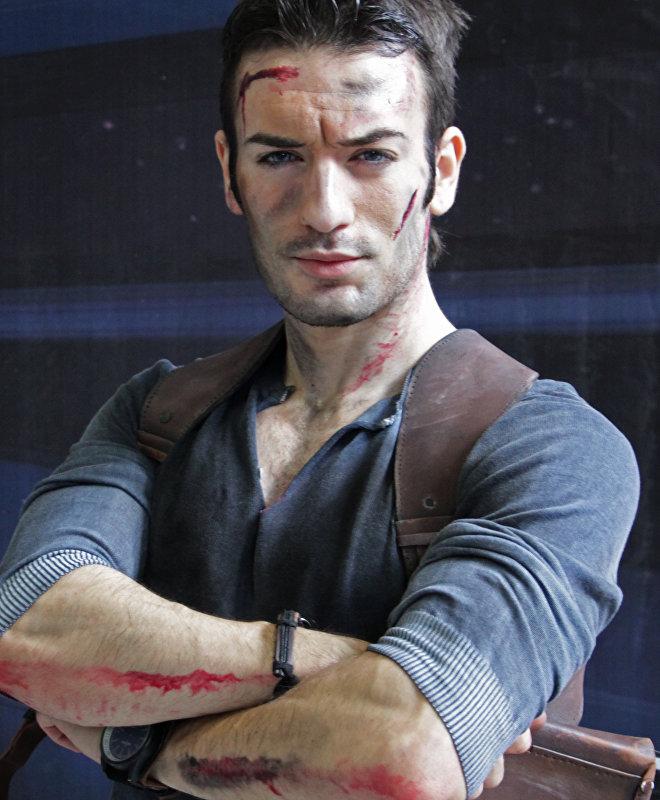 El rey del 'cosplay' profesional, Leon Chiro.