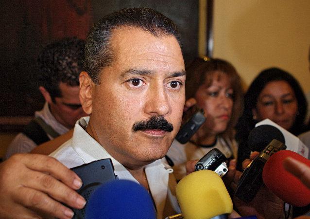 Manlio Fabio Beltrones, líder nacional del Partido Revolucionario Institucional (PRI)