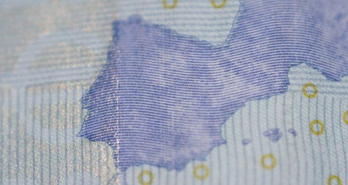 España en el billete de euro