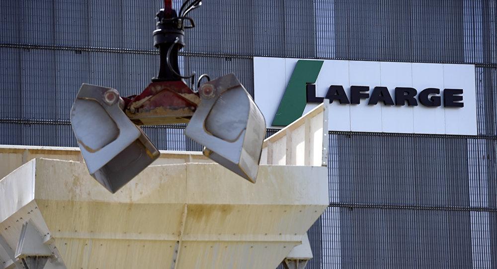 Logo de la empresa francesa Lafarge