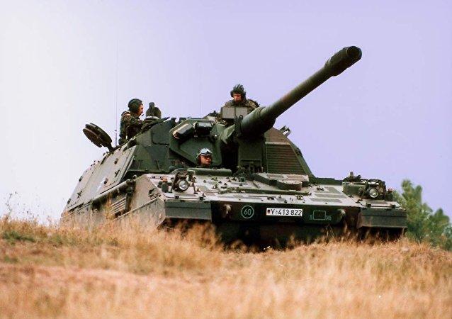 PzH 2000 del Ejército alemán