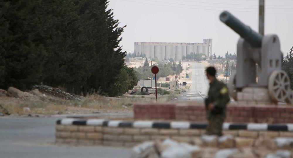 Afueras de Manbij, en el noreste de la provincia de Alepo (Archivo)