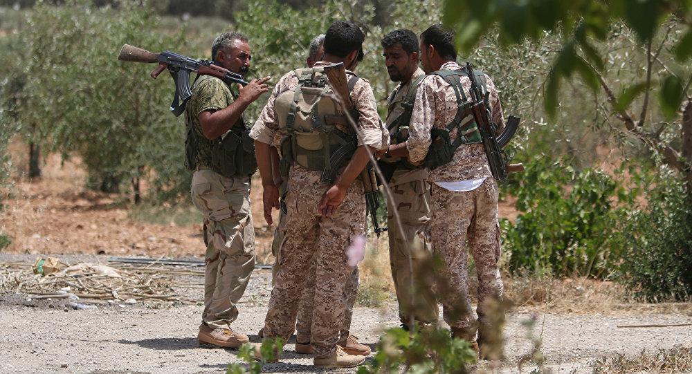 Combatientes de las Fuerzas Democráticas de Siria (FDS) (archivo)