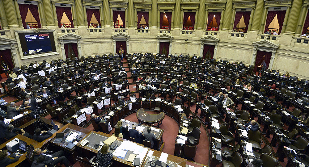 La Cámara de Diputados de Argentina