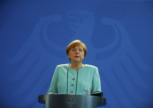 La canciller federal de Alemania, Angela Merkel
