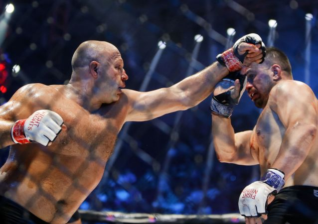 Fiódor Yemeliánenko, luchador de artes marciales mixtas