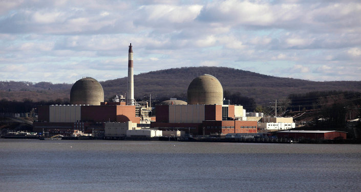 La central nuclear Indian Point en Nueva York, EEUU