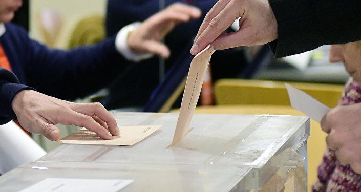 Las elecciones en España (archivo)