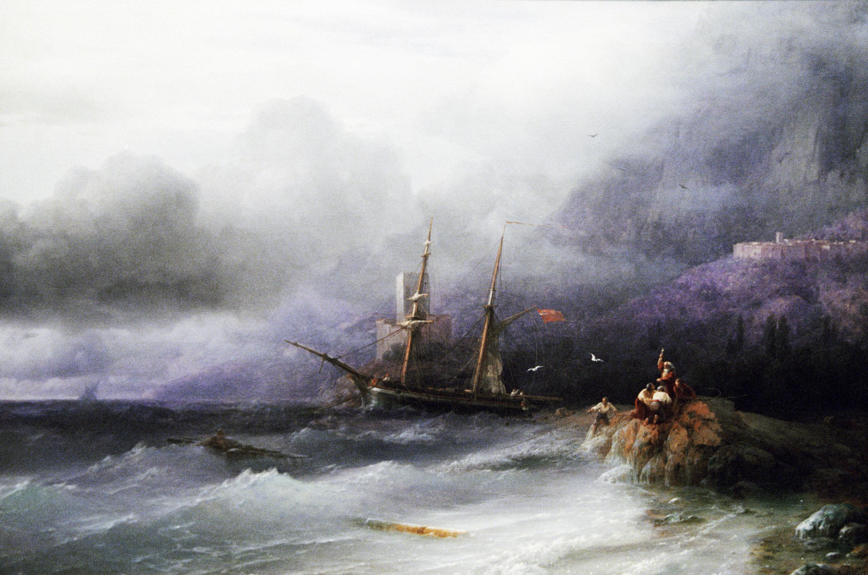 Iván Aivazovski - La tormenta