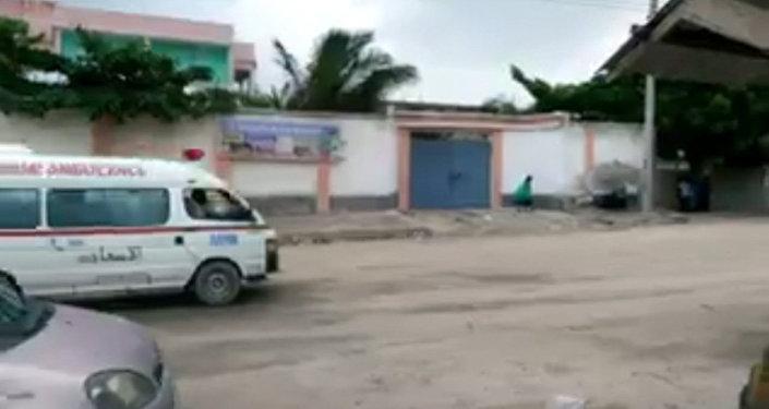 Ataque contra un hotel en Somalia