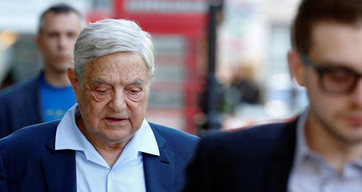 George Soros, inversor multimillonario británico