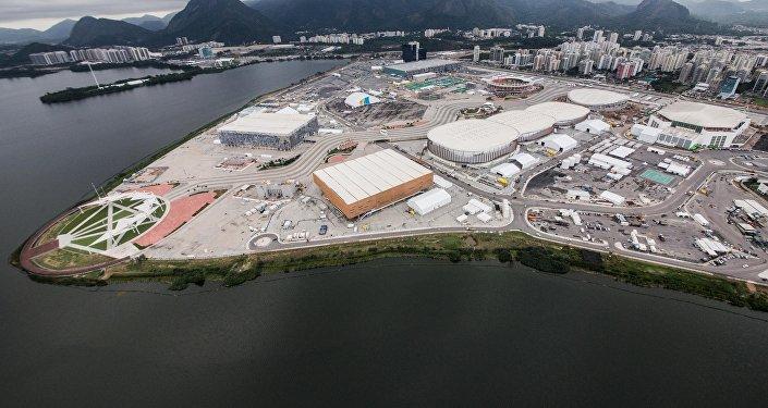 Vista Aérea de Parque Olímpico de Rio