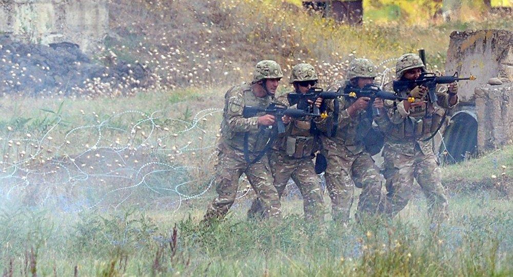 Maniobras de la OTAN en Georgia