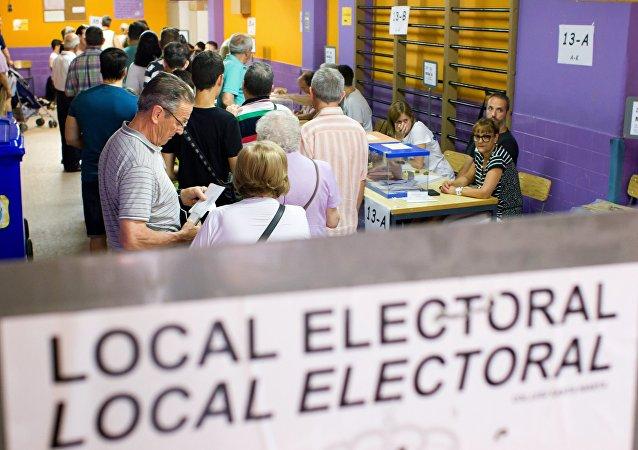 Las elecciones al parlamento español