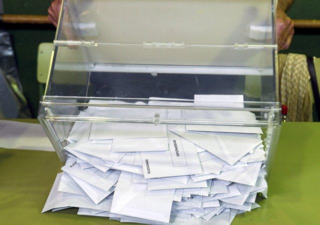 El recuento de los votos en España