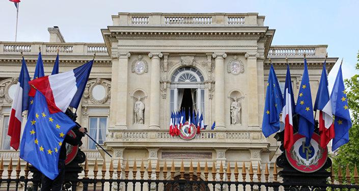 Ministerio de Asuntos Exteriores de Francia en París (imagen referencial)