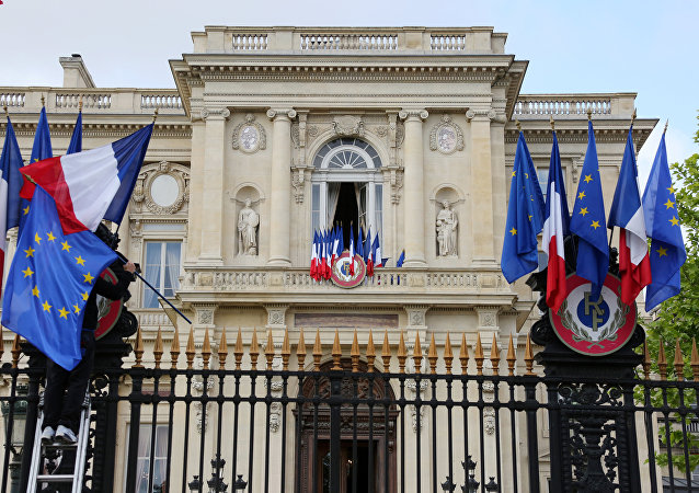 El Ministerio de Exteriores de Francia