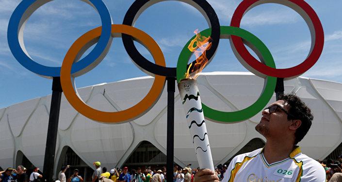 El periplo de la antorcha olímpica por Brasil
