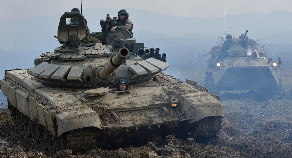 Maniobras de tanques