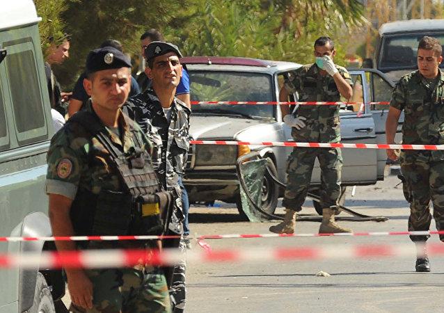 Policías de Líbano (archivo)