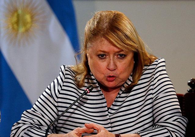 Susana Malcorra, la canciller argentina