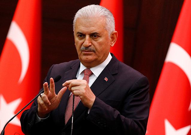 Binali Yildirim, primer ministro de Turquía (archivo)
