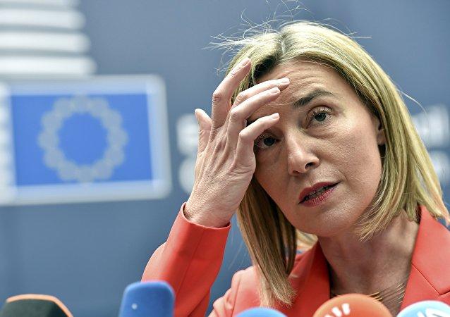 Federica Mogherini, jefa de la diplomacia europea