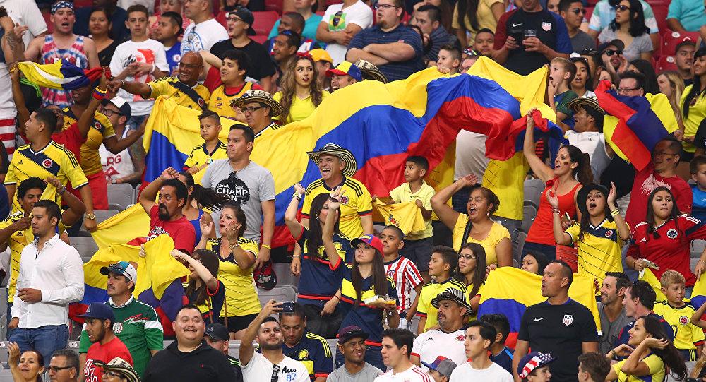 Hinchas de Colombia
