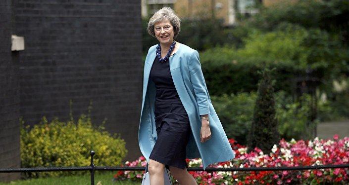 Theresa May, política británica