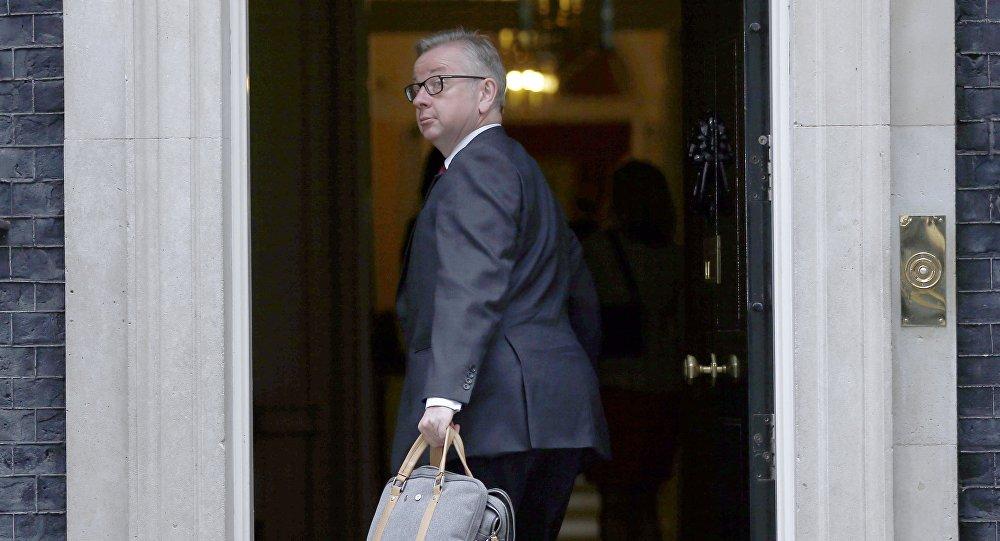 Michael Gove, ministro de Justicia de Gran Bretaña